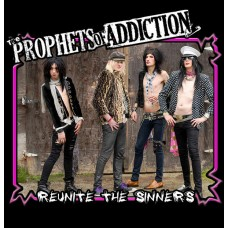 "Split 7"" Vinyl:  Prophets Of Addiction ""Reunite the Sinners"" / Lesli Sanders (solo) ""Self Portrait"" Free Shipping in U.S.A."