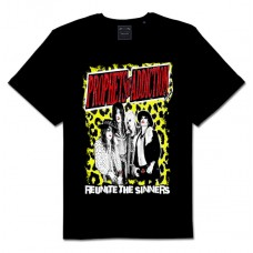 "Prophets Of Addiction ""Reunite the Sinners"" Leopard T- Shirt ( MEN'S CUT) Free Shipping in U.S.A."