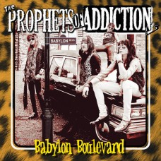 "Prophets Of Addiction debut CD ""Babylon Boulevard"" Free Shipping in U.S.A."